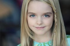 """Mckenna Grace, the who has played Nick (Joshua Morrow) and Sharon's (Sharon Case) daughter Faith Newman on """"The Young and the Restless,"""" is co-starring in Amityville: The Awakening. Mckenna Grace, Grace And Co, Erin Krakow, Actress Wallpaper, Film Awards, Young And The Restless, Actors & Actresses, Blonde Actresses, Black Actresses"""