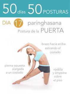 ૐ YOGA ૐ ૐ ASANAS ૐ  ૐ Paringhasana ૐ   50 días 50 posturas. Dia 17. Postura de la Puerta
