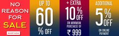 Oxolloxo Men's, women's, Kid's fashion Clothing sale on online shopping of clothes India. Buy trendy clothes at limited offer Sale 60%+10%+5% off on minimum purchase of INR 999 at  oxolloxo.  Free Shipping, COD. Shop now! Get more info on -http://www.oxolloxo.com/sale.html