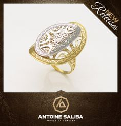 Ring 18Kt Gold  Click for Details  http://www.antoinesaliba.com/link.php?id=437