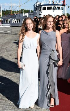 Sweden's answer to Pippa Middleton: Sofia's sisters Vater Erik, left, and Lina ...