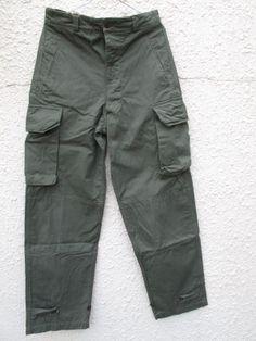 画像1: DEADSTOCK 60's VINTAGE French ARMY M-47 Cargo pants デッド フランス軍 カーゴパンツ ワンウォッシュ