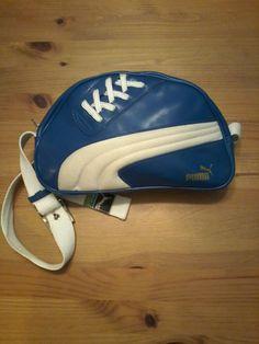 00d2cc5948a1 Vintage Unisex Puma Small Messenger Shoulder Bag