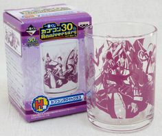 Capcom 30th Anniversary Glass Vampire Savior Demitri Morrigan Ver. JAPAN GAME