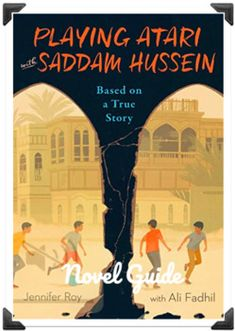 """""""Playing Atari with Saddam Hussein"""" - by Jennifer Roy - Novel Study GuidePowePoint file - Google Classroom ready This novel guide includes:- learning objectives- pre, during, and post reading activities - readings and extension resources on forms of government (dictatorship and democracy) and propag... Social Studies Lesson Plans, Teaching Social Studies, Teaching Resources, Teaching Ideas, Middle School Novels, Middle School Reading, Canadian Social Studies, Post Reading Activities, Cause And Effect Activities"""