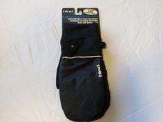 Mens Hind convertible cold wthr running gloves L/XL LED glove mitt fmg104 black #Hind #Mittens