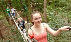 t/m november 2015 Klimrijk Veldhoven - 25% korting - Klimrijk Brabant is buitengewoon avontuurlijk. In dit ecologische klimbos klim je tussen de bomen, duik je op de grond tijdens een lasergame, zoek je aanwijzingen tijdens een GPS tocht en kun je crossen in de bossen met een Gokart.