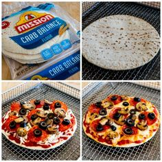 You can make tasty Air Fryer Pizza in less than ten minutes, and with the right crust and sauce choices you can even make low-carb pizza in the Air Fryer! Air Fryer Oven Recipes, Air Frier Recipes, Air Fryer Dinner Recipes, Low Carb Recipes, Cooking Recipes, Easy Recipes, Small Air Fryer, Lowcarb Pizza, Air Fryer Healthy