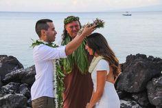 Big Island Vow Renewal - Modern Weddings Hawaii : Bridal Inspiration