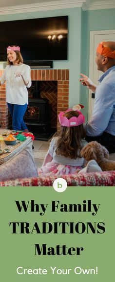 12 family traditions you can start now. Learn why they matter and why you need to start one soon. #beenke