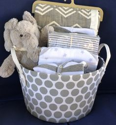 124 best baby gift baskets by fivebrownmonkies images on pinterest edgar elephant baby basket negle Images