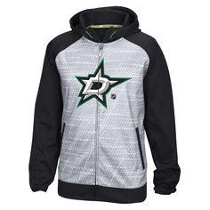 Dallas Stars Reebok Center Ice TNT Performance Full-Zip Hoodie - Gray - $99.99
