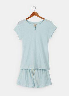 Organic Cotton Verbena Pajama Set