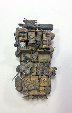 SAS Desert Rat - Chervolert 30 + Jeep Willys - - [M]Galerie - Modelarstwo plastikowe - Modelwork 2009 Jeep Wrangler, Jeep Cj, Jeep Willys, Carros Vw, Kombi Motorhome, Military Jeep, Model Tanks, Military Modelling, Army Vehicles