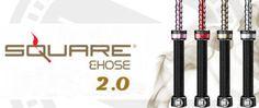 Square-2-0-E-hose-electronic-Hookah