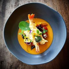 Find the new recipe of this stunning dish on Cookniche.com @cookniche 👏👏 Most Popular Posts - January 2017 2nd PLACE 🏆 5,248 Likes 👏👏 Prawn tempura, pumpkin gnocchi & tomato fondue 😋 by @theodorusimmanuel 👉 Create your culinary blog on Cookniche.com 👉for free👈 and publish your recipes, photos, culinary thoughts and videos, all in one place, and be a part of the international culinary scene. Direct link in bio.