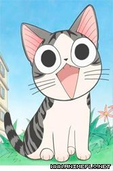 Chi's Sweet Home: A kid's anime and manga. So kawaii! Manga Anime, Gato Anime, Manga Cat, Anime Animals, Cute Animals, Chi Le Chat, Neko, Chi's Sweet Home, Image Chat
