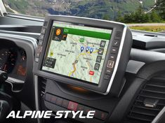 Alpine Mobile Home Specific Headunits Alpine Style, Mobile Homes, Ducati, Caravan, Peugeot, Boxer, Camper, Vans, Camper Shells
