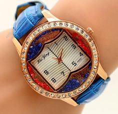 """Brand new wrist watch from China pretending to be """"vintage"""" on mendacious Etsy."""