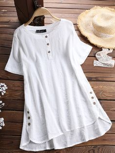 Newchic – Fashion Chic Clothes Online, Discover The Latest Fashion Trends Mobile NewChic – Fashion Chic Kleidung Online, entdecken Sie die neuesten Modetrends Mobile Chic Outfits, Fashion Outfits, Work Fashion, Fashion Blouses, Cheap Fashion, Fashion Ideas, Women's Fashion, Baggy Shirts, T Shirts For Women