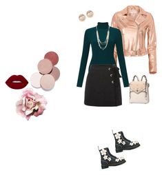 """""""PinkMania"""" by federica-camilla-guerrera on Polyvore featuring Dr. Martens, IRO, Miss Selfridge, Topshop, LunatiCK Cosmetic Labs and Nordstrom Rack"""