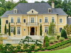 Introducing Chateau Soleil, the 2015 Atlanta Symphony Decorators' Show House & Gardens | Saturday, April 18 - Sunday, May 10, 2015 #ASOShowHouse http://www.decoratorsshowhouse.org