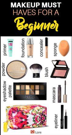ABC Make Up Foundation Eyebrow Eyeliner Blush Cosmetic Concealer Brushes (Rose Gold) - Cute Makeup Guide Make Up Kits, Make Up Geek, Make Up Tools, Best Makeup Tutorials, Make Up Tutorials, Makeup Tutorial For Beginners, Best Makeup Products, Make Up Beginners, Basic Makeup For Beginners