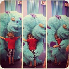 Aww. I want a Sully hug