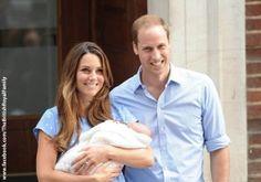 Kate und William präsentieren ihren Sohn der Öffentlichkeit