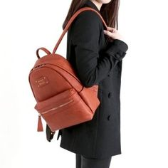 Learn more about the Monopoly Mini Leather Backpack v2!
