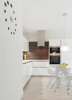 Impeccable and Neat Design Defining a Beautiful Modern Apartment in Bratislava