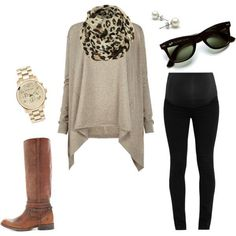 Weekend V by pregnantchicken on Polyvore #maternity