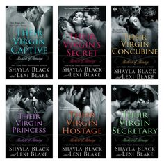 Masters of Menage Series by Shayla Black & Lexi Blake. Good Books, Books To Read, My Books, Best Seller Libros, Shayla Black, Maya Banks, Sylvia Day, I Love Reading, Romance Novels