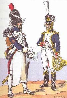 Les grenadiers d'ile-de-france - Fusiliers et Musiciens