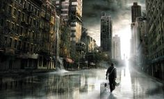 Post-Apocalyptic City | Free post apocalyptic wallpaper background