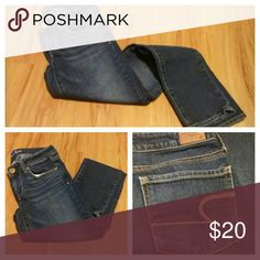 American eagle skinny jeans!! Adorable dark American eagle jeans! Only worn a few times and in great shape!! American Eagle Outfitters Jeans Skinny