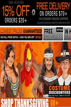 Costume Discounters Coupon Codes: Get 15% Off Orders $20+ & Free Shipping!
