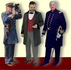 Known for quality historical mens military uniforms and civilian clothing reproductions since 1975