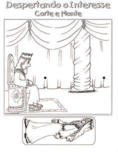 Queen esther dot to dot bible pictures results for dot to dot esther gaat naar de koning knutselwerkje voor kleuters altavistaventures Image collections