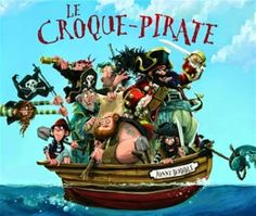 Buy The Pirate Cruncher by Jonny Duddle at Mighty Ape NZ. A hilarious picture book debut has a scurvy crew setting off for an island of gold, where an unexpected development awaits under the final flap. Pirate Day, Pirate Theme, Best Children Books, Childrens Books, Ben Y Holly, Reading Levels, Lectures, Chapter Books, Book Cover Design