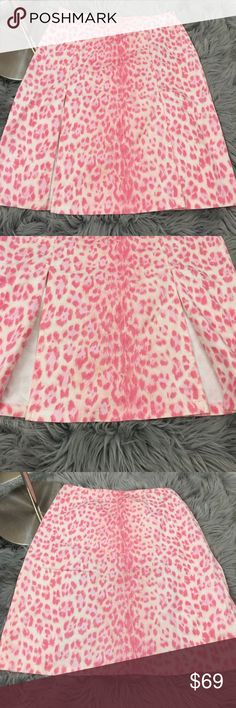 Moschino jeans pink leopard print skirt 90's Excellent condition, not sure of the material as the tag is washed out, feels similar to a cotton/spandex stretch denim. Moschino Skirts Pencil