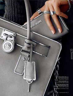 Cute Michael Kors Bag & Wallet....I love the rings & bracelet too! This one will be mine!!!!!!!