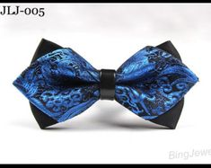 Men Bow Ties Mens Classic Elegance Bowties Men's Double Bow Ties - Fashion Vintage Self ties Retro Bowties Wedding Bow Ties for Men