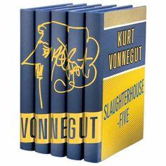 An exclusive clothbound set of Vonnegut Masterpieces from the By Design imprint of Easton Press. Easton Press, Lawyer Gifts, Kurt Vonnegut, Leather Bound Books, The Masterpiece, Lawyers, Design, Christmas Ideas, Birthday