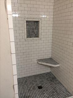 Beautiful Subway Tile Shower Floor