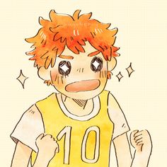 So cuteeee ლ(⌒▽⌒ლ) Anime Manga, Anime Guys, Anime Art, Hinata Shouyou, Kagehina, Haikyuu Fanart, Haikyuu Anime, Calin Gif, Character Art
