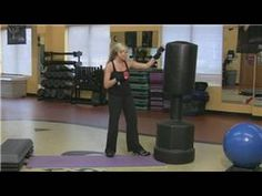 Punching bag workout...Just saw one of these at the gym..hmmm......:)