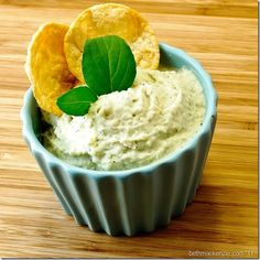 easy and refreshing white bean dip