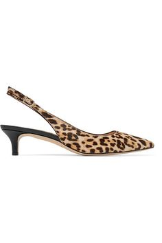 Sam Edelman - Ludlow Leopard-print Calf Hair Pumps - Sand - US10.5