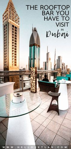 The Best Rooftop Bar in Dubai // Level 43 Sky Lounge Eastern Travel, Asia Travel, Dubai Hotel, Dubai Vacation, Vacation Trips, Beautiful Places To Travel, Best Places To Travel, London Big Ben, Dubai Things To Do